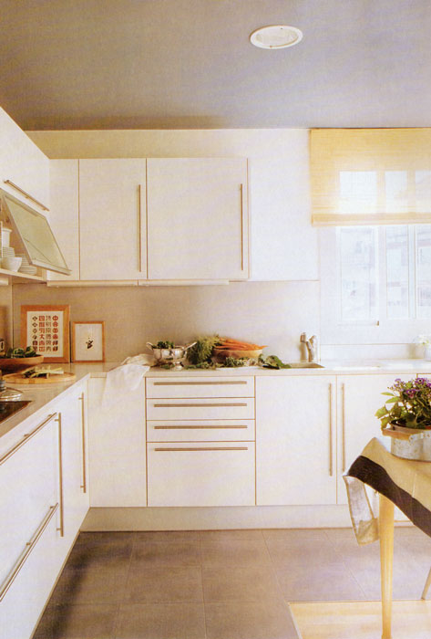 Cocinas y muebles de ba o lacados en tenerife a medida - Cocinas lacadas en blanco ...